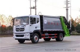 东风D9后装压缩式垃圾车多型号可选