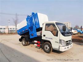 福田4立方侧装挂桶式垃圾车新型环保质量优