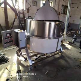 黄豆蒸煮锅可倾式电加热搅拌夹层锅