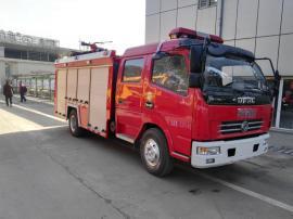 东风多利卡消防车3吨水罐消防车3吨企业消防车3吨社区消防车