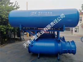 220kw浮筒式潜水轴流泵