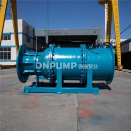 管道式安装潜水轴流泵