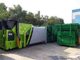 程力联体式压缩垃圾箱 移动式压缩垃圾中转站 垃圾压缩中转设备