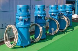 高效稳定QSZ中吸式潜水轴流泵工作原理