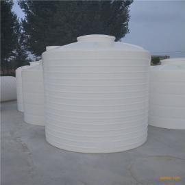 承包5吨塑料桶pe加厚立式环保水箱耐酸碱甲醇储罐