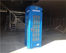 独特电话亭爆款定做 公共电话亭生产加工厂 优质工艺电话亭大图