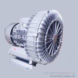 4.3kw单涡轮高压风机 啤酒饮料行业除水干燥 RT-H7143BS风机