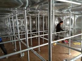箱泵一�w化供水�O��-地埋式消防水箱