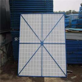 建筑落地架冲孔防护网租赁 安全建筑网片生产 金属安全钢板网