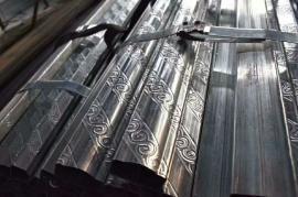 慕墙P型钢管生产尺寸、集装房屋P型管专用