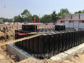 地埋式箱泵一体化消防泵站-箱泵一体化地埋水箱定做