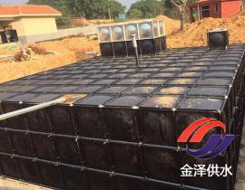 抗浮式地埋箱泵一体化地埋水箱的顶部可以停车吗