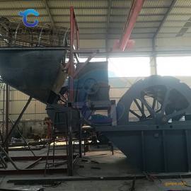 矿山成套洗砂设备 时产200方轮斗洗砂机现货