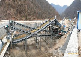 隆中新型花岗岩制砂生产线设备