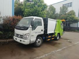 8立方压缩垃圾车城市垃圾收集车东风环卫垃圾清运车