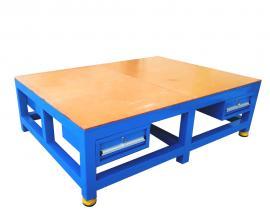 �木板模具工作�_,加厚�_面�板工作桌,�w模�_