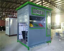 乡村建设环保垃圾房专业加工厂市县环保垃圾房设备齐全