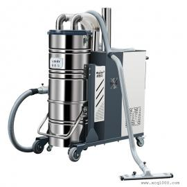 地坪配套工业吸尘器 工业粉尘强力吸尘机 工业自主清尘吸尘机