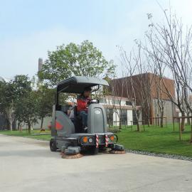 虹口物业小区道路全自动扫地车清扫车高美S1900保洁扫路机智能