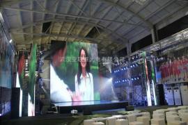 乡村露天演出大舞台LED显示屏幕制造商报价方案