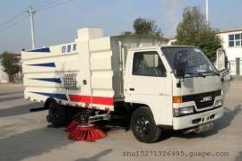 江铃7.5吨扫路车 1.5水6尘城市道路清扫车