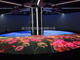 舞台红外感应地砖LED全彩互动显示屏造价