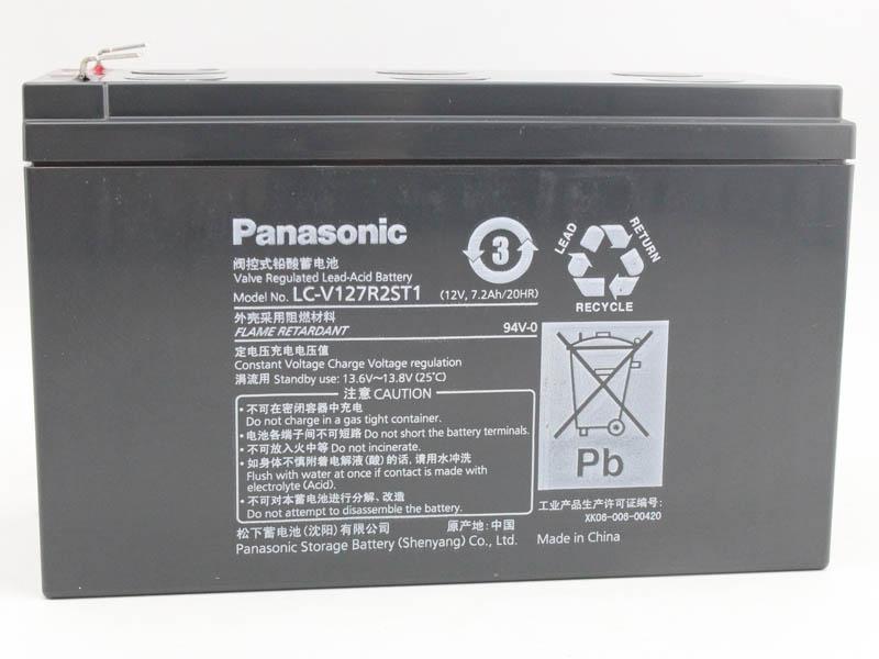 松下panasonic蓄电池LC-P1238AH*新 报价参数