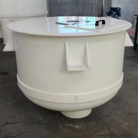 PP反应釜 耐腐蚀PP贮槽 塑料焊接搅拌桶