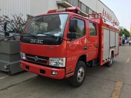 东风多利卡2吨水罐消防车售后电话|2吨水罐消防车保养常识