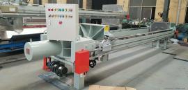 100平方液压压滤机 自动保压压滤机特点兴泰产品