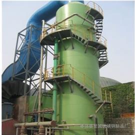 除尘脱硫塔砖窑净化塔锅炉废气净化塔耐腐蚀寿命长