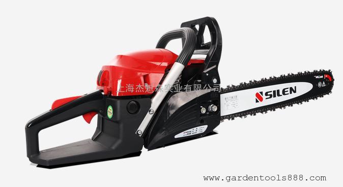 世林X58-5520二冲程汽油链锯 园林伐木锯竹林锯世林20寸锯树油锯