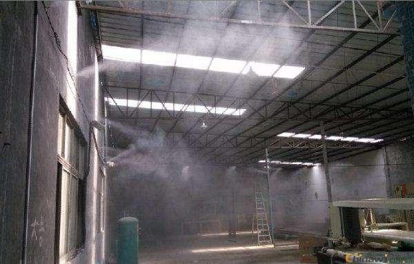 中山工业喷雾除尘设备