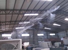 铸造厂喷雾降尘系统应用