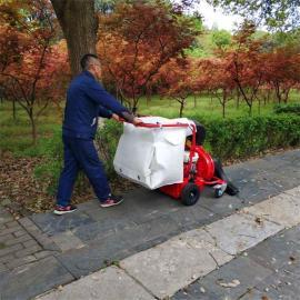 汽油草坪落叶吸树叶机推吸手持两用型机器小区道路本田吸树叶机