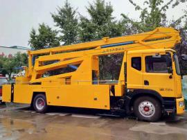 东风24米高空特种作业车配置-24米工程高空作业车