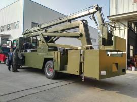 东风D9型24米高空作业车整车型号JDF5110JGK24E5型高空作业车