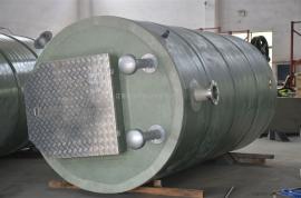 环保型一体化雨水预制泵站