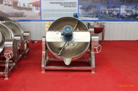 可倾式肉制品加工设备 定制款全自动蒸汽夹层锅