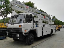 国五东风153(24米)五节折叠臂式高空作业车配置