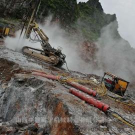 孤石破碎用液压岩石劈裂机