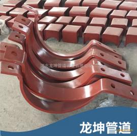 ①重型双螺栓管夹②a6重型双螺栓管夹-标号-参数-成品图片