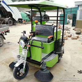 驾驶室扫地车工厂车间专用电动扫地车