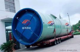 一体化污水泵站安装与运输时需要注意的事项