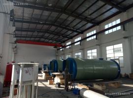 智能化一体化污水提升泵站