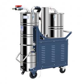 双桶尘絮分离式工业吸尘器乐普洁LP50药厂专用粉末集尘机