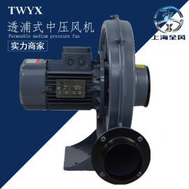 CX-1.5KW透浦式�x心鼓�L�C �X�ぶ�猴L�C 用于吹袋淋膜�L�C