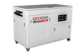 油田使用的静音的汽油发电机