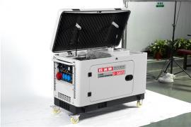 市政用低噪音10千瓦柴油发电机