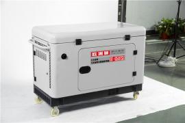 三相7千瓦柴油发电机功率封闭式